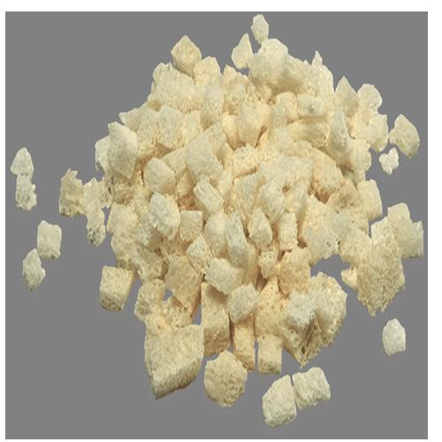 Chips Cubos de Esponjosa